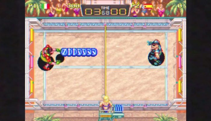 Windjammers announced for Nintendo Switch