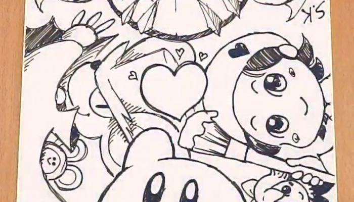 Kirby Star Allies's developers draw for the game's latest Dream Friends update