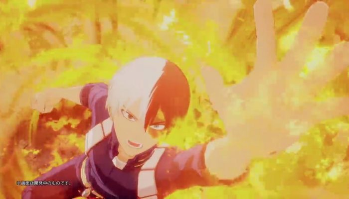 My Hero One's Justice – Japanese Shoto Todoroki Commercial