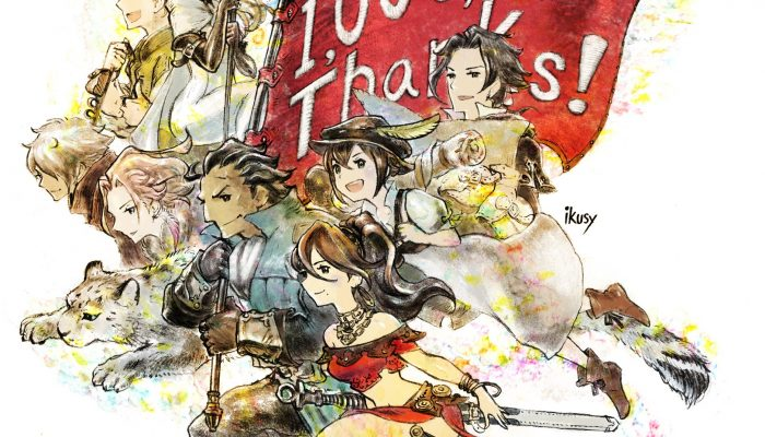 Octopath Traveler celebrates a million units sold