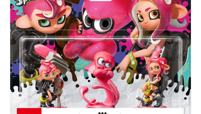 Octo amiibos set to launch as a single pack in Europe
