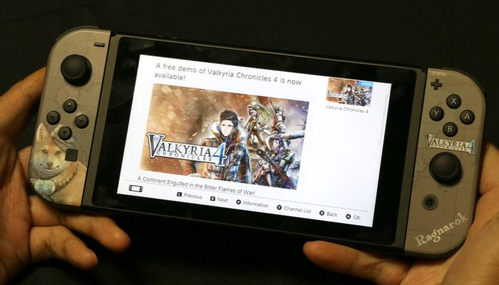 Valkyria Chronicles 4 demo now available on the Nintendo Switch eShop