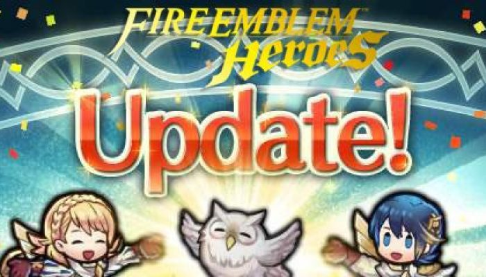 Fire Emblem Heroes updated to version 2.8.0