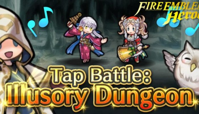 Tap Battle Illusory Dungeon Festival of Heroes in Fire Emblem Heroes