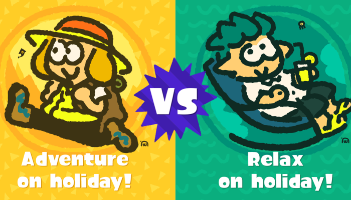 It's on with the Adventure vs. Relaxation European Splatfest