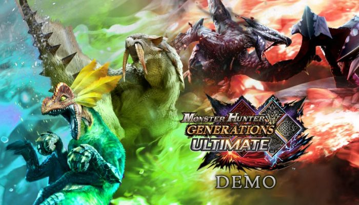 There's a Monster Hunter Generations Ultimate demo on the Nintendo Switch eShop