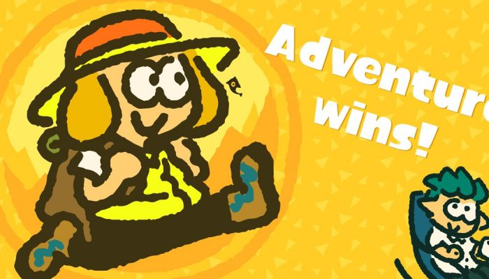 Team Adventure wins the latest European Splatfest