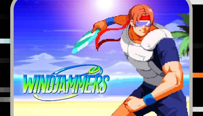 Windjammers coming to Nintendo Switch on October 23