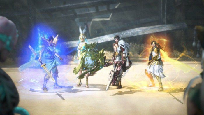 warriors orochi 4  u2013 japanese ares and odin screenshots
