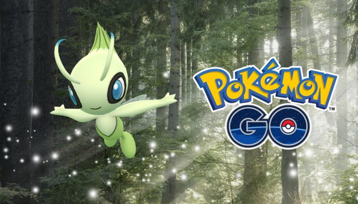 Niantic: 'Track the Mythical Pokémon Celebi in New Special Research!'