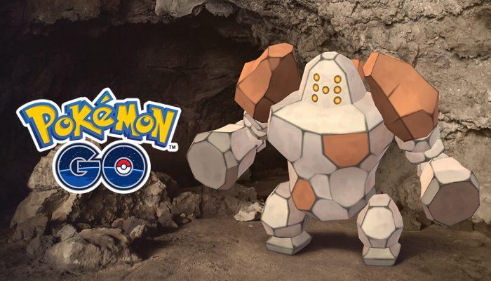 Niantic: 'The Legendary Pokémon Regirock Rolls into Earth-Rumbling Raid Battles!'