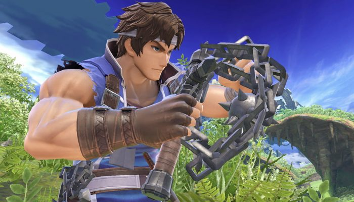 Super Smash Bros. Ultimate – Richter Fighter Screenshots