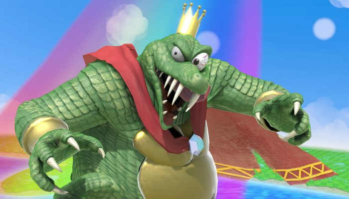 Super Smash Bros. Ultimate – King K. Rool Fighter Screenshots