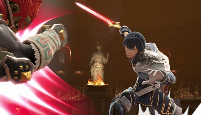 Super Smash Bros. Ultimate – Chrom Fighter Screenshots