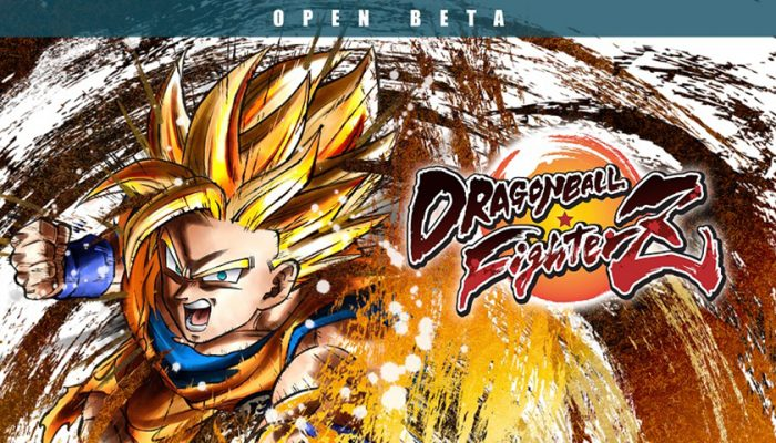 NoA: 'Dragon Ball FighterZ Open Beta arrives on August 9th!'