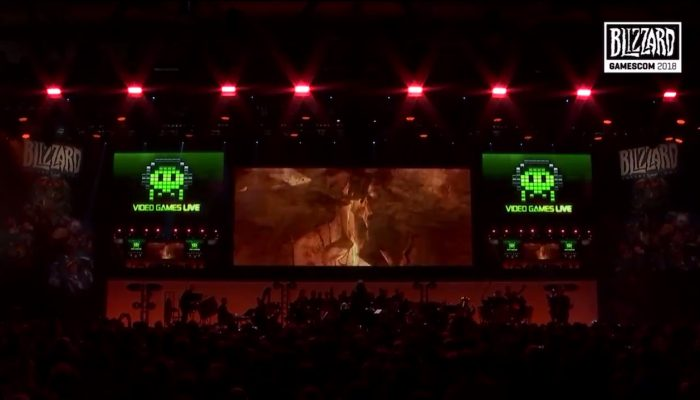 Video Games Live play Diablo III at gamescom 2018