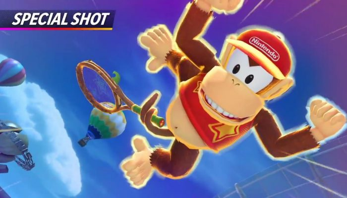 Mario Tennis Aces – Diddy Kong Showcase