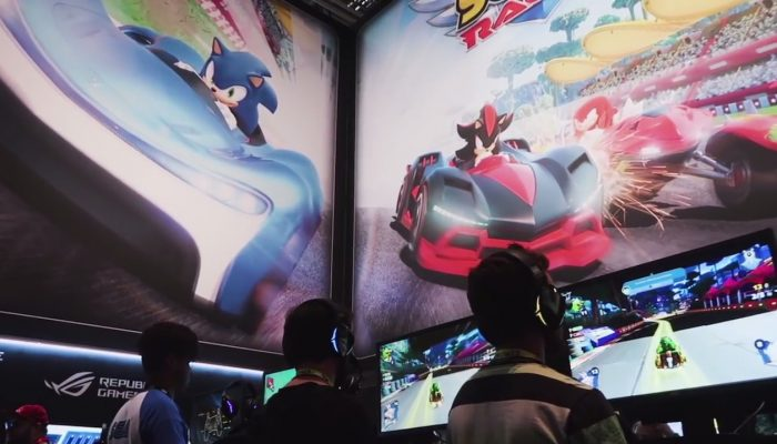 Team Sonic Racing – Gamescom 2018 Developer Interview