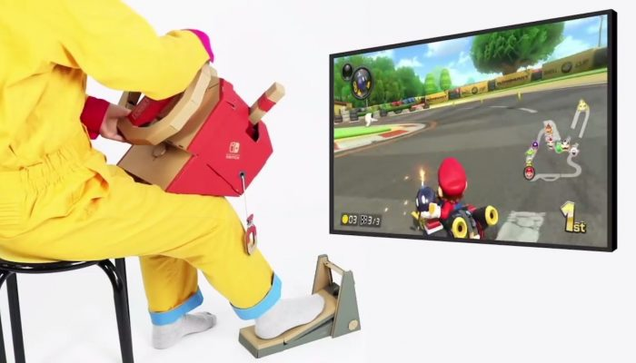 Mario Kart 8 Deluxe – Nintendo Labo Vehicle Kit Compatibility Trailer