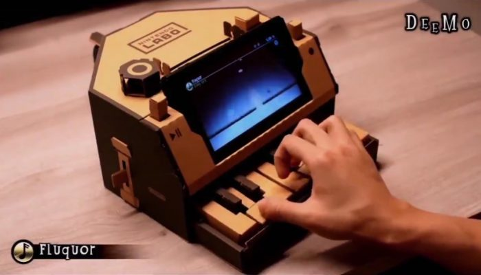 Deemo to be compatible with the Nintendo Labo Piano in late October