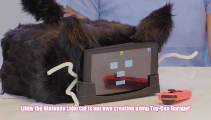 Nintendo Labo UK – Make your own Nintendo Labo cat using Toy-Con Garage!
