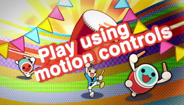Taiko no Tatsujin: Drum 'n' Fun! – Gameplay Trailer