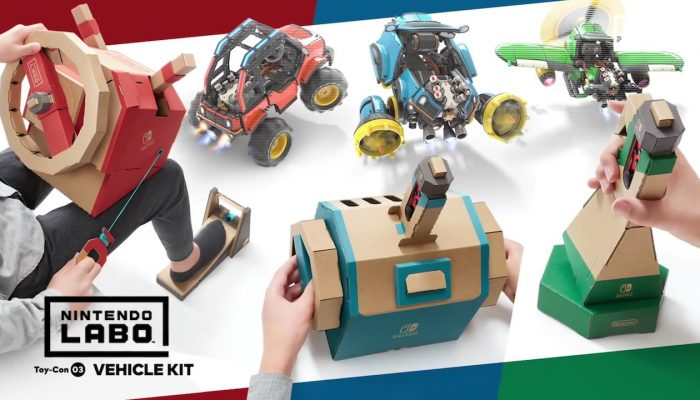 NoE: 'Get an in-depth look at upcoming Nintendo Labo: Vehicle Kit'