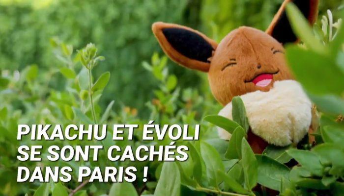Retour sur la chasse au trésor Pokémon #LetsGoParis