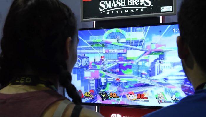 Super Smash Bros. Ultimate at CEO 2018