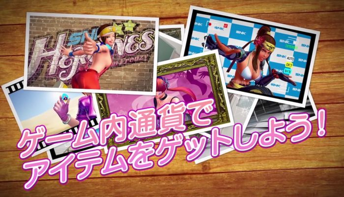 SNK Heroines: Tag Team Frenzy – Third Japanese Trailer