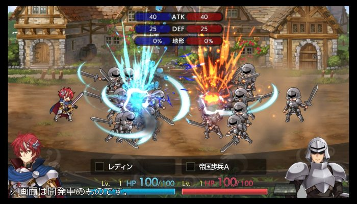 Langrisser I & II – Early Japanese Gameplay Screenshots