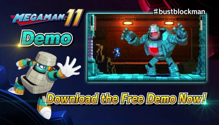 Capcom: 'Bust Block Man in the Mega Man 11 Demo!'