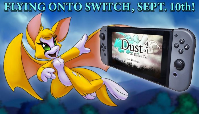 Dust An Elysian Tail announced for Nintendo Switch