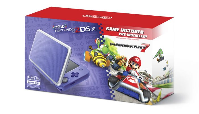 Mario Kart 7 to be pre-installed on every new New Nintendo 2DS XL starting September 28