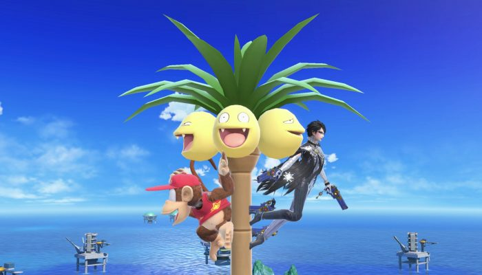 A look at Alolan Exeggutor in Super Smash Bros. Ultimate