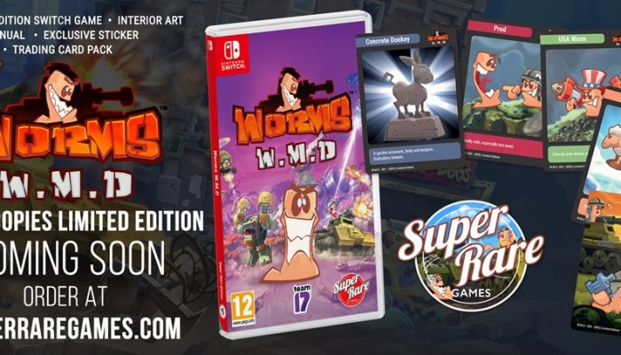 Worms W.M.D. is getting physical on September 27