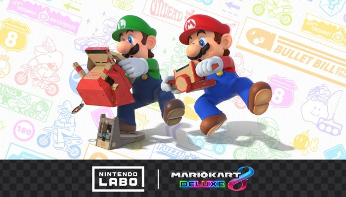 NoE: 'Grab the wheel with Nintendo Labo: Vehicle Kit and Mario Kart 8 Deluxe!'