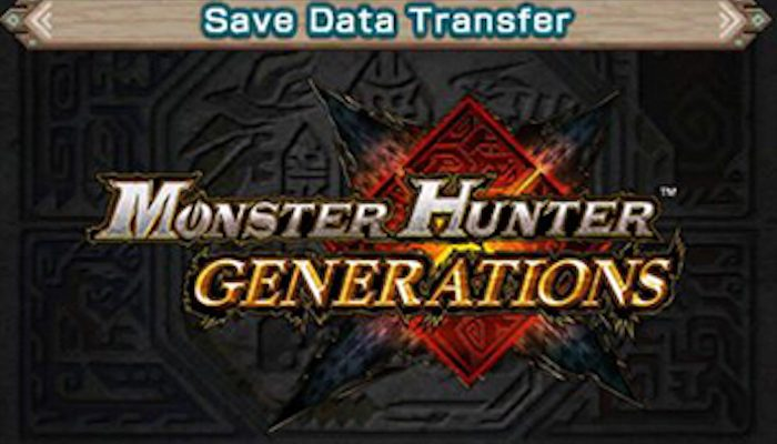 You can transfer your Monster Hunter Generations data from 3DS to MHG Ultimate on Nintendo Switch