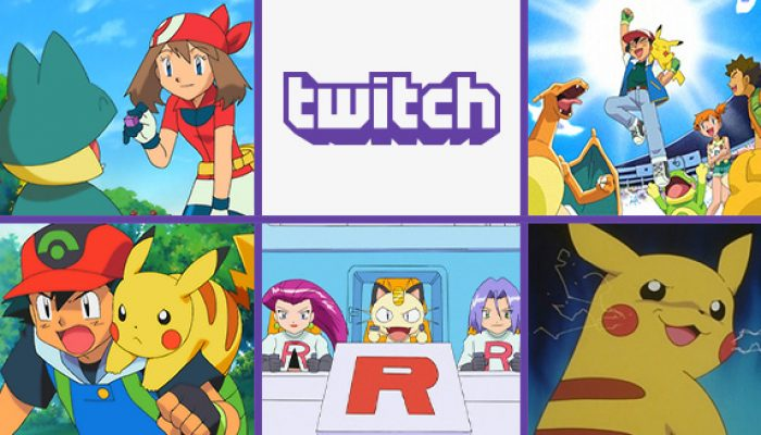 Pokémon: 'Watch Pokémon the Series on Twitch'