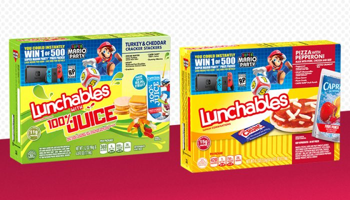 NoA: 'Nintendo throws a Super Mario Party with Lunchables this fall'