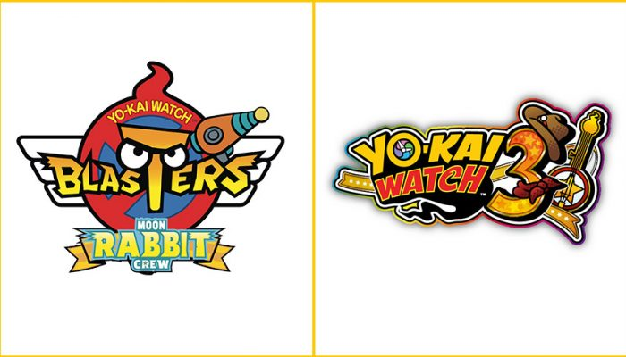 NoA: 'After downloading the free update for Yo-kai Watch Blasters today, get excited for the launch of Yo-kai Watch 3 on Feb. 8'