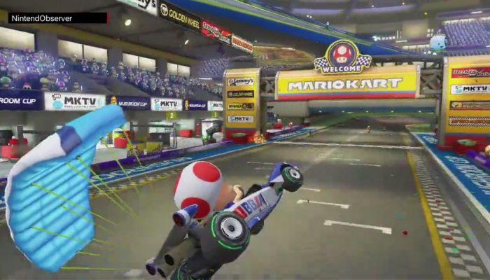 Mario Kart 8 Deluxe, À la one again.