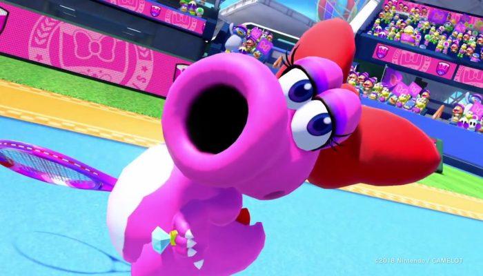 NoE: 'The Mario Tennis Aces online tournament for October is now underway!'