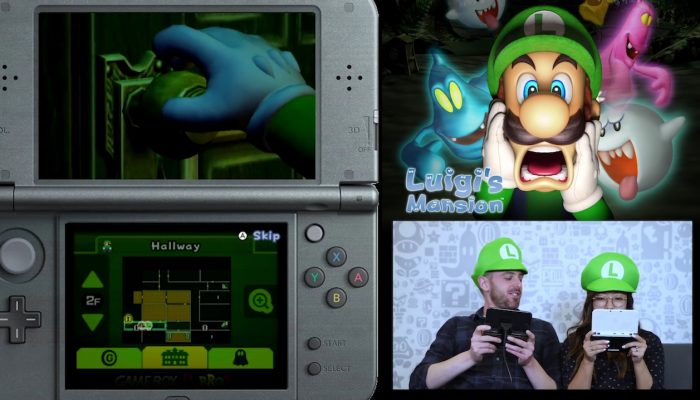 Nintendo Minute – Luigi's Mansion Co-op Ghost Catching