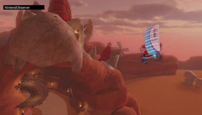 Mario Kart 8 Deluxe, Virée dans le désert.