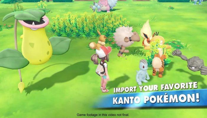 Pokémon: Let's Go, Pikachu! & Let's Go, Eevee! – A Whole New Way to GO! Trailer