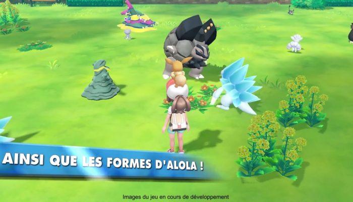 Pokémon : Let's Go, Pikachu & Let's Go, Évoli – Bande-annonce Une nouvelle expérience de jeu ! Let's Go !