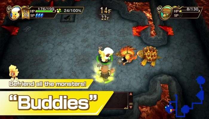 Chocobo's Mystery Dungeon: Every Buddy! – First Look