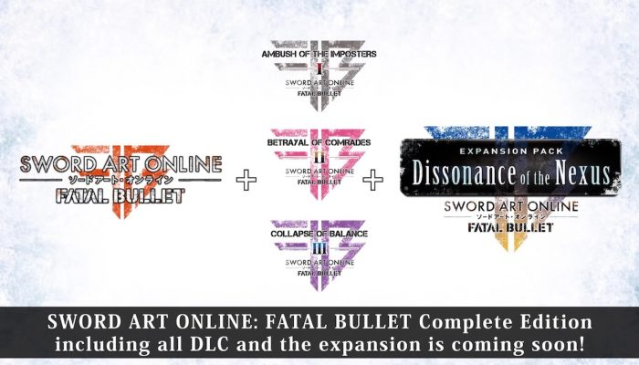 Sword Art Online Fatal Bullet – Dissonance of Nexus (Expansion Pack) Trailer