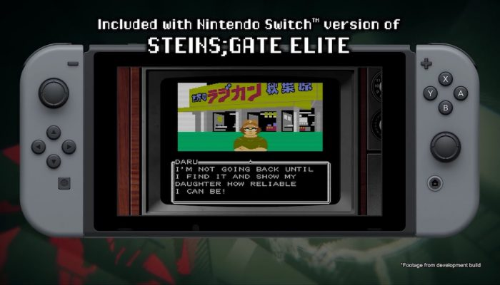Steins;Gate Elite – 8-Bit Adv Steins;Gate Trailer